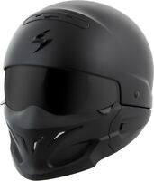 SCORPION COVERT OPEN-FACE SOLID HELMET MATTE BLACK XL