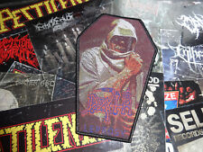 Death Coffin Woven Patch Death Metal Mantas Limited Sold Out Kutte Aufnäher NR 1