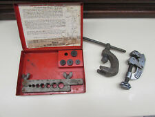 Misc Flaring Tools with Snap On TF-5 Double Flaring Tool Box