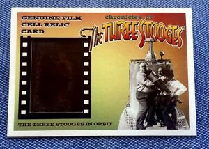 ✨Chronicles of The Three Stooges✨Series 4Real Film Cell Relic Card #FC7💥RRParks