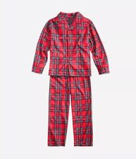 Christmas Kids Plaid Sleepwear Nightwear Pajamas Set