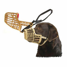 Dog Basket Muzzle Safety Training Aid Plastic Size 6 (B1695)