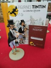 TINTIN  FIGURINE  COLLECTION  OFFICIELLE N° 38   PROFESSEUR SICLONE