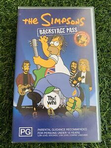 The Simpsons Lot 3 VHS Tapes VGC Pre Owned *J2 (#6)