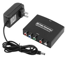 HDMI to 5RCA RGB Component YPbPr Video +R/L Audio Adapter Converter HD TV