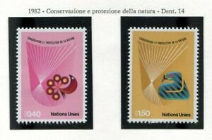 19574) United Nations (Geneve) 1982 MNH Nature Protection