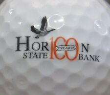 (1) Horicon State Bank Wisconsin 100 Years Logo Golf Ball