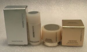 NEW AMORE PACIFIC SUN RENEWAL CREME + TREATMENT TRAVEL SIZE IN ORIGINAL BOXES