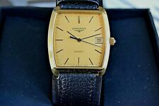 Watch Longines Knight Date L/ Gold MEN'S QUARTZ