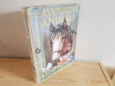 FAVOURITE ANIMALS - Nelson - Large format picture book