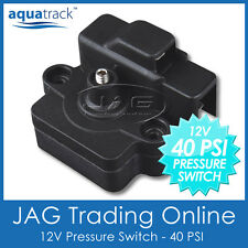 12V 40 PSI PRESSURE SWITCH FOR WATER DIAPHRAGM PUMP - Caravan/Boat/RV/4x4/Galley