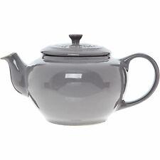 LE CREUSET Stoneware Grey Teapot 1L