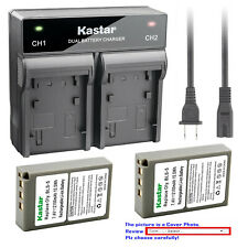 Kastar Battery Dual Rapid Charger for Olympus BLS-5 & Olympus E-PM2 EPM2 Camera