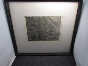 ABSTRACT print etching artist proof