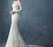 New Sweetheart White/Ivory Bridal Gown Wedding Dress Size:6/8/10/12/14/16/18