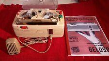 Registratore vintage a valvole Geloso G256 anni 50 FUNZIONANTE