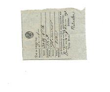 Preußen/Berncastel 30. Jan 1831, Handwritten. on Quadrat-Postschein