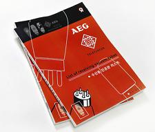 Aeg Telefuncken List of Receiving Vacuum Tubes Spec Data Book Manual Magazine_Au
