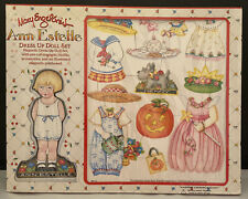 Mary Engelbreit Ann Estelle Magnetic Dress Up Doll Set 1998 Outfits Accessories