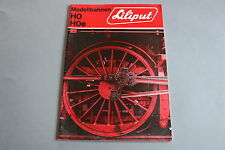 X215 LILIPUT Train catalogue Ho Hoe 1971 34p 29,7*20,8cm Prix 71 F ANG D Katalog