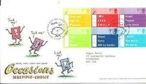 GB 2003 Occasions FDC