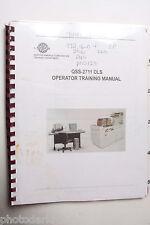 Noritsu QSS 2711 DLS Operator Training Manual - English - USED