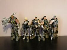 Neca Gears of War 3 action figure set Marcus Fenix Anya Baird Dominic Cole Xbox
