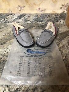 New Homitem Women's Memory Foam Slippers Grey Size 7