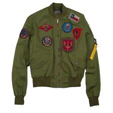 Top Gun Goose Gabard Bomber Jacket Uomo 59062 5244 146 Olive