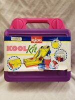 Igloo Koolkit Retro Vintage Lunch Box VGC lockable complete