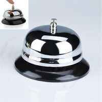 Restaurant Hotel Kitchen Service Steel Bell Ring Reception Desk Call Ringer