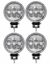 "4x 12 / 24v 7"" Round Cree LED Spot Fog Lights Lamp DRL/Park Light Dual Function"