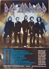DEF LEPPARD UK CONCERT TOUR POSTER 2003 X