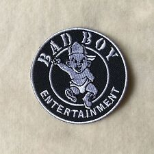 BAD BOY ENTERTAINMENT RECORDS MUSIC EMBROIDERY IRON ON PATCH BADGE