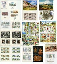 22 CZECH REPUBLIC Souvenir Sheets Postage Stamp Collection Mint LH