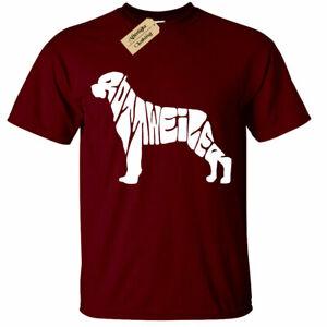 Rottweiler T Shirt Mens gift dog lovers tee