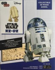 STAR WARS R2-D2 COLLECTIBLE LASER CUT WOODEN 3D MODEL NEW/SEALED SKILL LEVEL 3