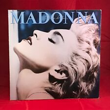 MADONNA True Blue 1986 VINYL LP + INNER  EXCELLENT CONDITION original record c