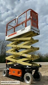 JLG 2630 electric scissor lift aerial *REFURBISHED - WARRANTY - DEALER ie Genie