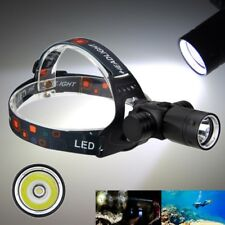 6000Lm XM-L T6 LED Underwater Scuba DIVING HEADLAMP Headlight Torch Light lamp