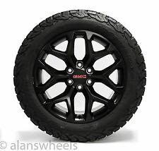 "NEW CK156 GMC Sierra Yukon Denali Black 20"" Wheels Rims BFG Tires TPMS Lugs 5668"