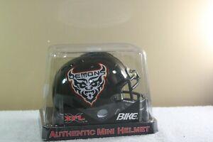 Vintage SAN FRANCISCO DEMONS XFL BIKE Authentic mini helmet New in package