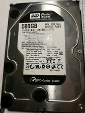 HARD DISK INTERNO 3.5 WESTERN DIGITAL 500GB - CAVIAR BLACK WD5001AALS 32MB Cache