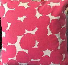 "New! Kate Spade 18"" Square Random Dot Decorative Throw Toss Pillow Pink White"