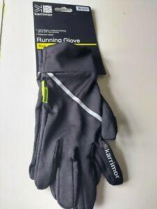 Karrimor Running Gloves Mens Womens Size XS / S reflective moisture wicking
