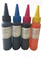 4x100ML Refill bulk ink kit for HP Canon Lexmark Dell brother inkjet printer