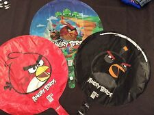 Angry Birds Party Supplies Mylar Balloon lot of 3