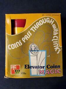 Rare TENYO ELEVATOR COINS T-90 Magic Trick