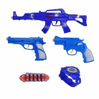 Kids First Elite Force Military Play Toy Gun Set of 5 Pieces w/ Rifle & Pistols