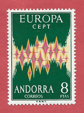 ANDORRA CORREO ESPAÑOL 1972 EDIFIL 72** LUJAZO